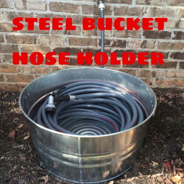 Picture of Steel Bucket Hose Holder
