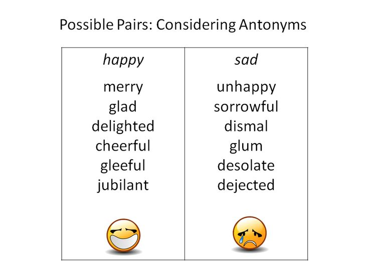 Possible Pairs: Considering Antonyms