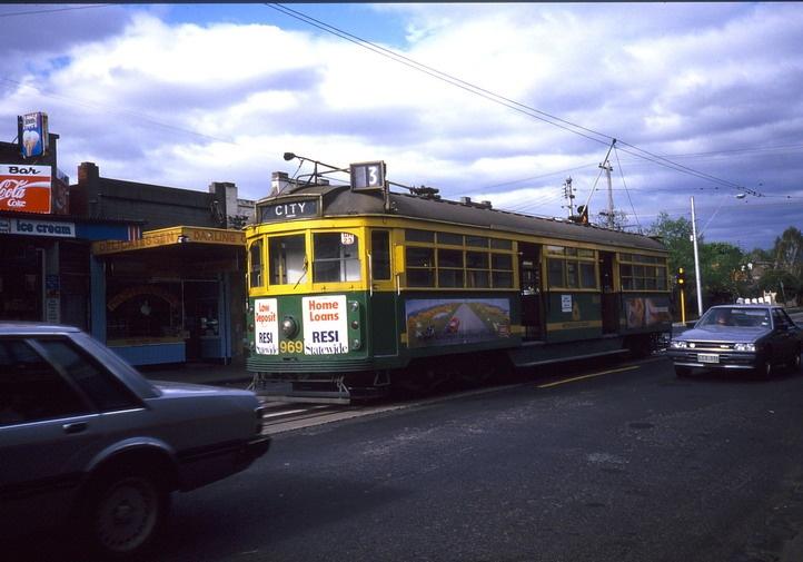 60399. Tram terminus at Waverley Road, 2005.