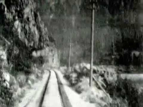 Earliest known film of BC from Oct 1899,  the Fraser Canyon near Yale