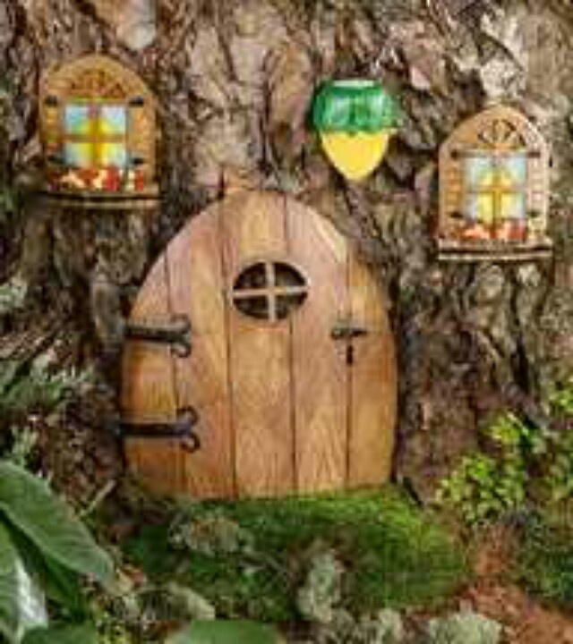 1000 images about gnome homes on pinterest search glow for Elf door accessories