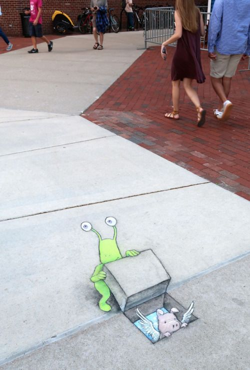 Sluggo, true to form, tried to sneak his friends into the free Ann Arbor Summer Festival: Top of the Park.    New June 2017