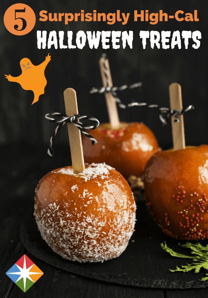 5 Surprisingly High-Cal Halloween Treats