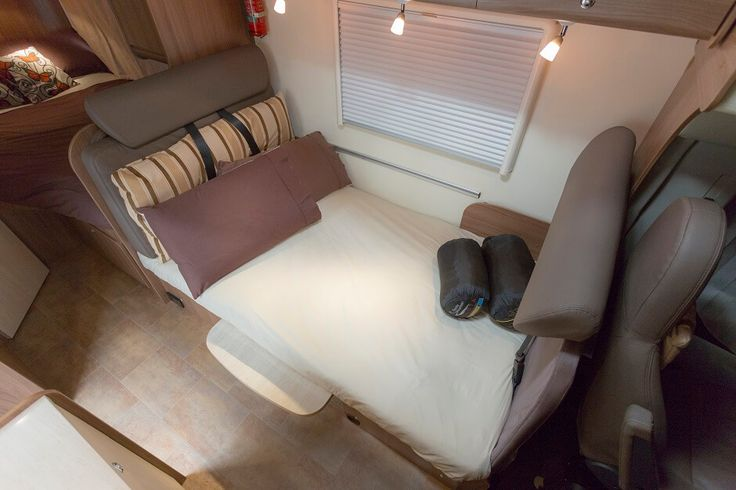 Inside the burstner argos time a650 european motorhome for for European beds for sale