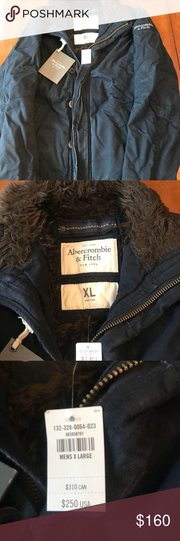 Abercrombie Men's Winter Coat NWT Abercrombie Men's Winter Coat NWT Abercrombie & Fitch Jackets & Coats