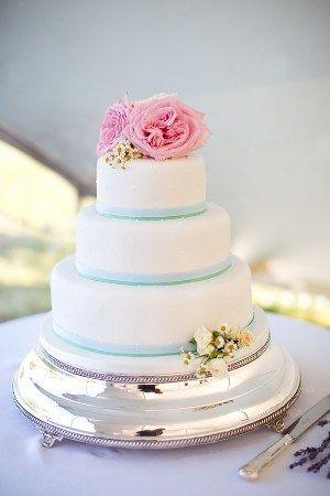 Garden Rose & Daisy cake flowers