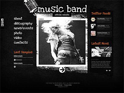 How to Create a Band Website #stepbystep