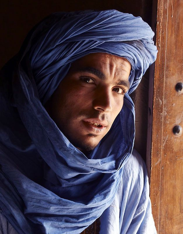 Handsome Berber man.