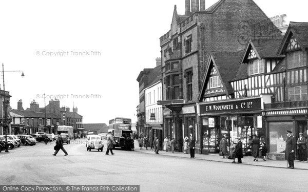 Newcastle, Penkhull Street c.1950, from Francis Frith