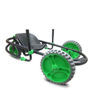 Take a look at this Green & Black Explorer Go Kart by YBIKE on #zulily today!