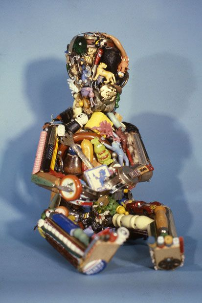 Junk sculptures: Leo Sewell makes art out of scraps he collects from rubbish dumps - Telegraph