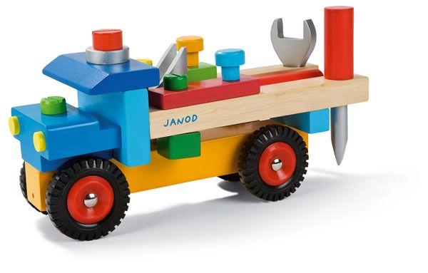 Mes premiers jouets Janod Camion bricolo