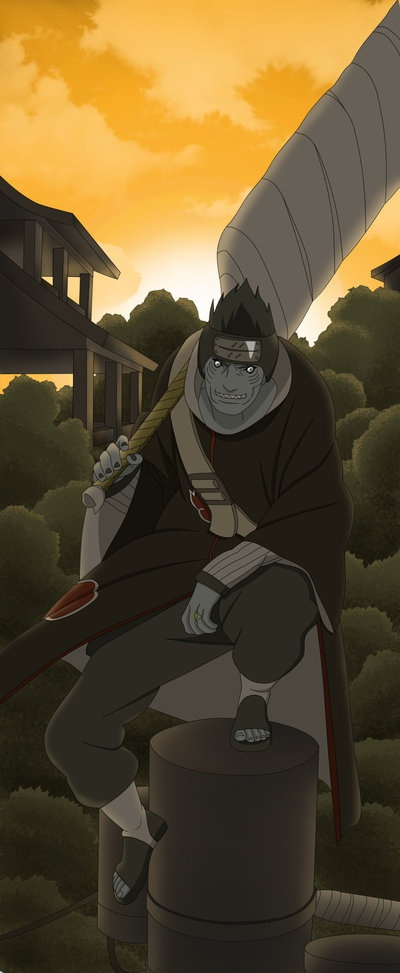 Naruto pinning challenge day 12 - Favorite Akatsuki member: I don't know them very well, but I'd have to say Kisame.