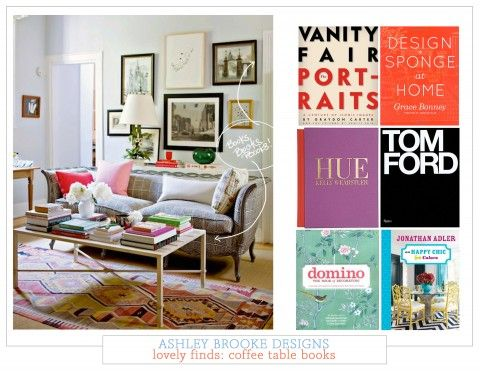 Free Download + Lovely Finds: Coffee Table Books | Ashley Brooke Designs