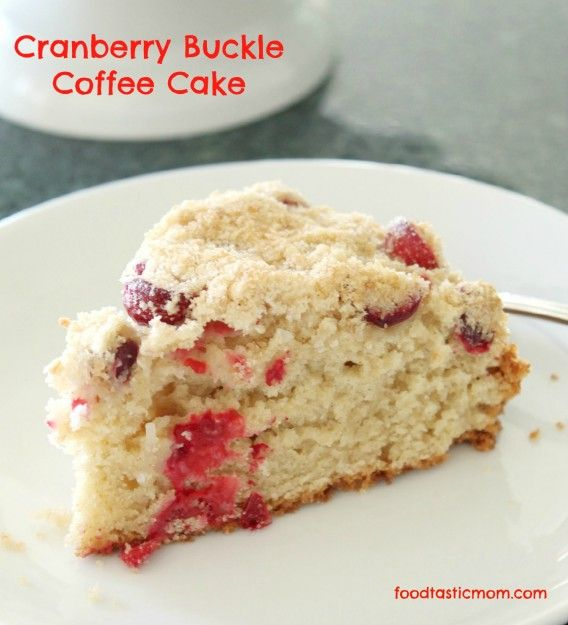 Cranberry Buckle Coffee Cake | Recipe | Christmas morning breakfast ...