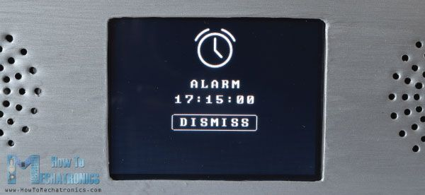 Arduino Touch Screen Music Player and Alarm Clock Project