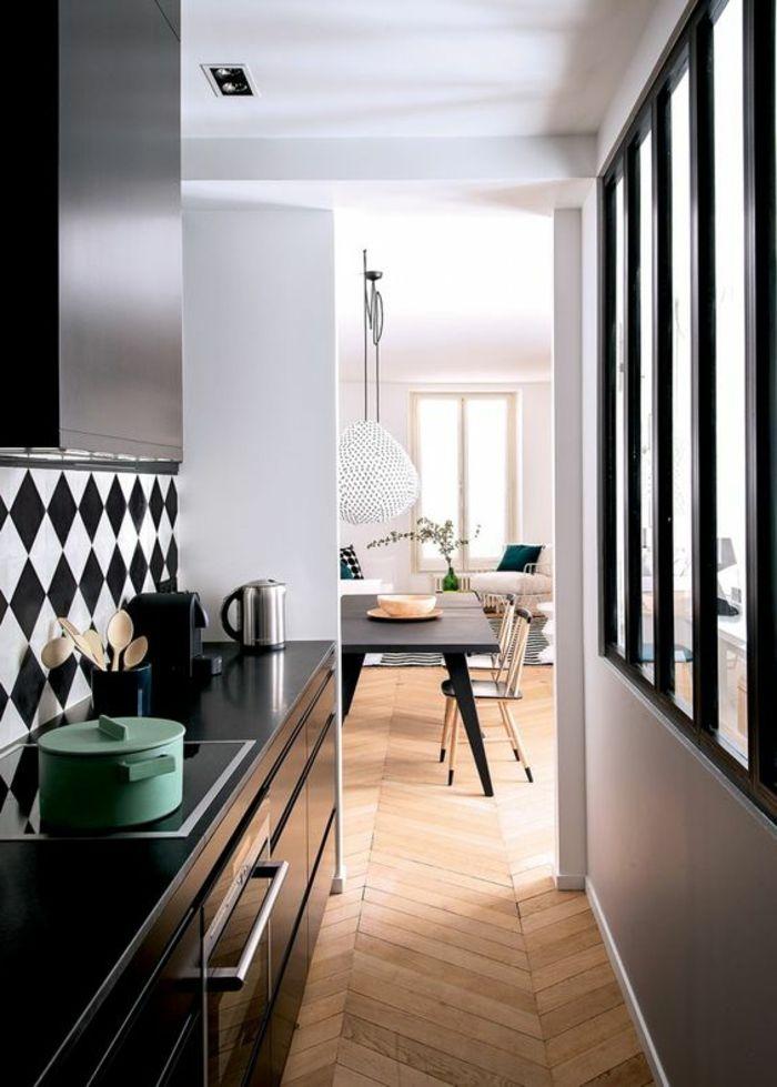 Die besten 25+ Weiße holzstühle Ideen auf Pinterest Holztische - offene kuche vom wohnzimmer trennen