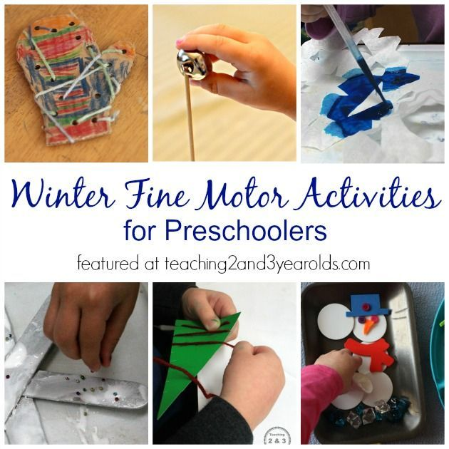 72 best images about bricolage d 39 hiver on pinterest for List of fine motor skills for preschoolers