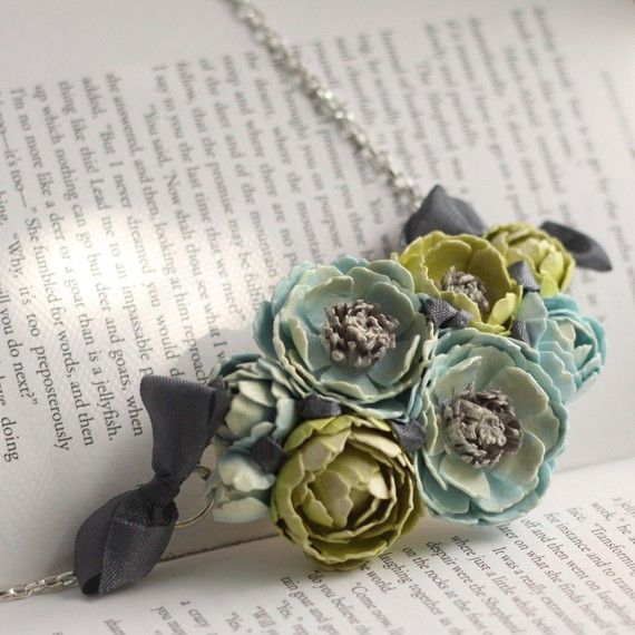 Marie Antoinette's Paper Garden Necklace