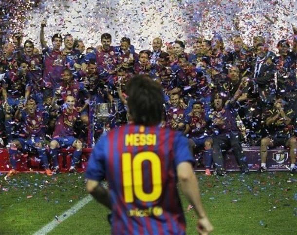 Messi, Copa de El Rey. Via @nikita82roma