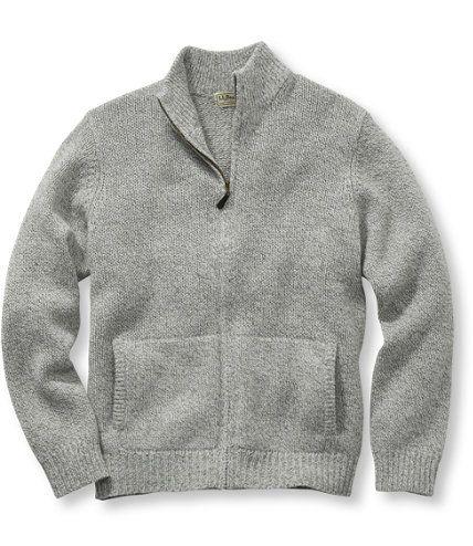 Ragg Wool Sweater, Full-Zip: Henleys and Zip-Necks