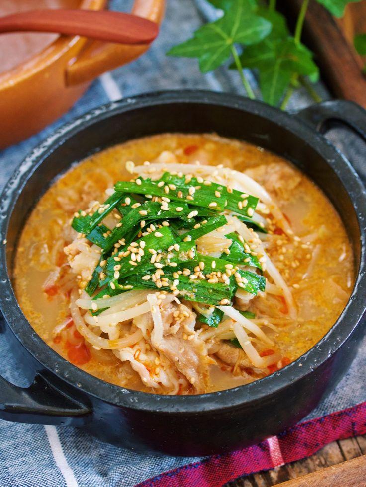 豚バラもやしの坦々風♡ごま味噌スープ煮【#包丁いらず】 by Yuu 「写真がきれい」×「つくりやすい」×「美味しい」お料理と出会えるレシピサイト「Nadia | ナディア」プロの料理を無料で検索。実用的な節約簡単レシピからおもてなしレシピまで。有名レシピブロガーの料理動画も満載!お気に入りのレシピが保存できるSNS。