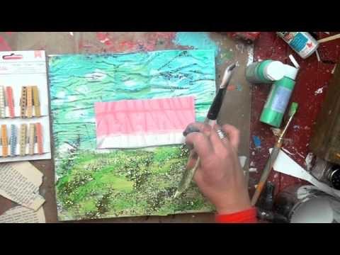 I love Christy Tomlinson. She has great video tutorials for mixed media art!!!