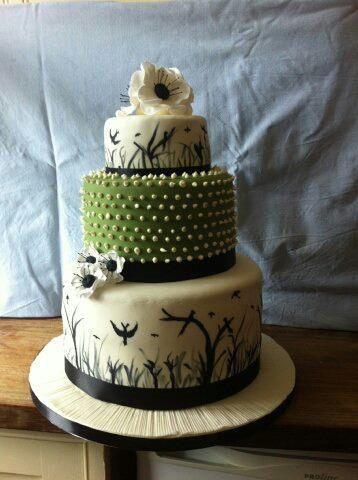 A special wedding cake