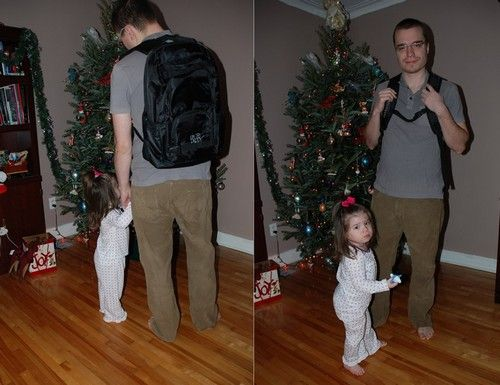Traveling to Grandma's With the Daddy Diaper Pack: A Day of Holiday Baking,Tourist Meets Traveler