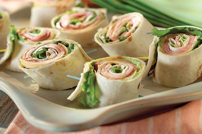 We've put a new spin on party sandwiches. Roll up your meat and cheese faves for party-perfect pinwheels that are as much fun to make as…