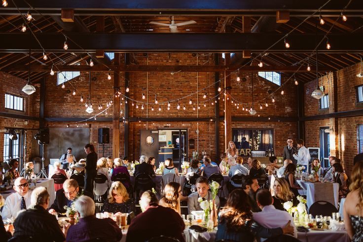 Killer DIY Industrial Wedding on Borrowed & Blue.  Photo Credit: Daniel Zetterstrom