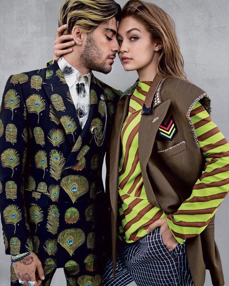 "10.2 mil curtidas, 35 comentários - Hadid News (@hadidnews) no Instagram: ""#GigiHadid and #ZaynMalik for Vogue US August 2017. Photographed by @inezandvinoodh."""