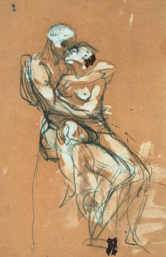 Auguste Rodin. The kiss