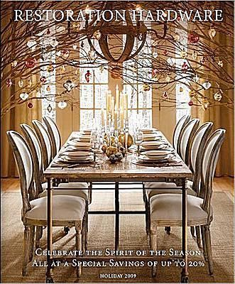 33 Home Decor Catalogs You Can Get for Free by Mail: Restoration Hardware Home Decor Catalog
