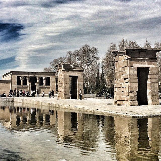 🇪🇸😍☀️ #templodedebod #madrid #architecture #españa #egyptian
