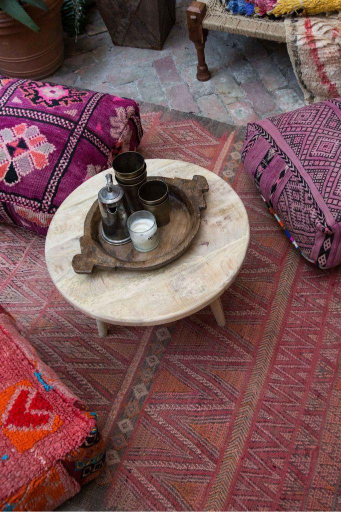 SAHARA vintage Moroccan Boujad kilim