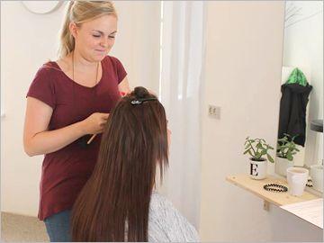 Hair extension butik i Aalborg - salg af hår og tilbehør!