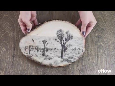 Transfer ink to wood quickly and easily with this easy method. Save special memories or create personal gifts.                                                                                                                                                                                 More