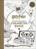 Harry Potter Postcard Coloring Book (Paperback)