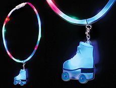 FLASHING* ROLLER SKATE Necklaces: 1-BOX of 24 pcs. Description from pinterest.com. I searched for this on bing.com/images