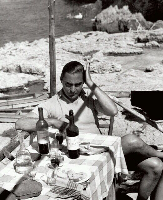 In the Spirit of Capri 1959 #amobeachwear #amobeachwearstyle #beach  #swimshorts