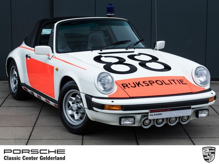 "1980 Porsche 911 ""G"" - 1980 911 SC Targa 'Rijkspolitie' dutch police | Classic Driver Market"