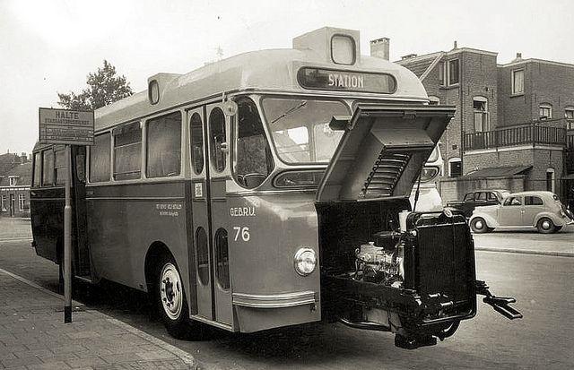 1950 DAF-Domburg Diesel Bus