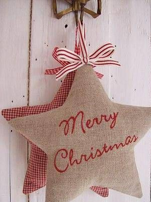 embroidered xmas star 7
