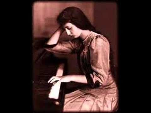 Clara Haskil plays Liszt Etude de Concert No. 2  in F minor La Leggierezza