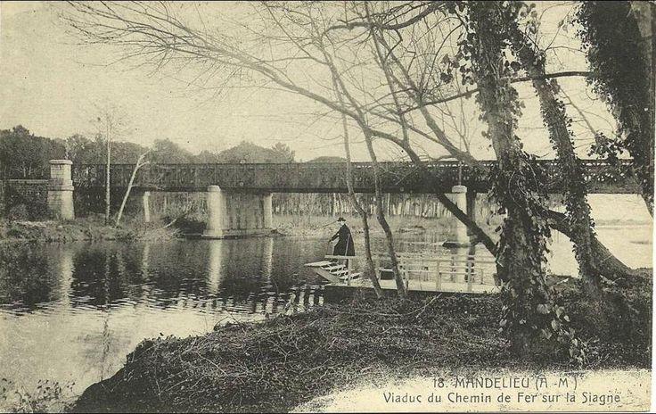 Mandelieu-La Napoule - Viaduc du Chemin de fer sur la Siagne
