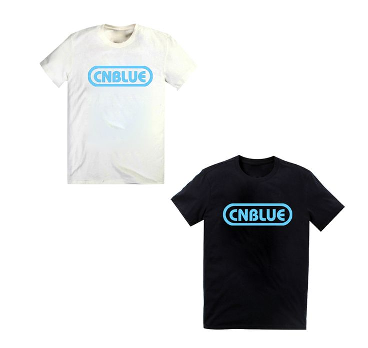 Kpop CNBLUE logo cotton t shirt
