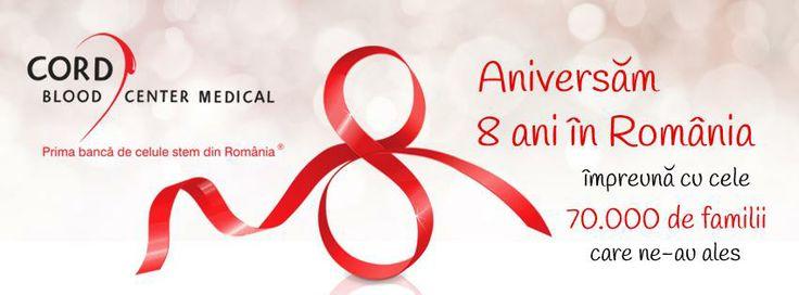 Ziua #cordbloodcenter in Romania! ocazie cu care dorim sa le multumim tuturor familiilor care ne-au ajutat sa crestem si care ne-au motivat sa fim mereu cei mai buni in domen...