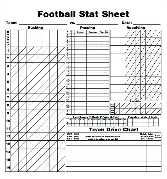 Image result for football score sheet pdf format | aa | Football