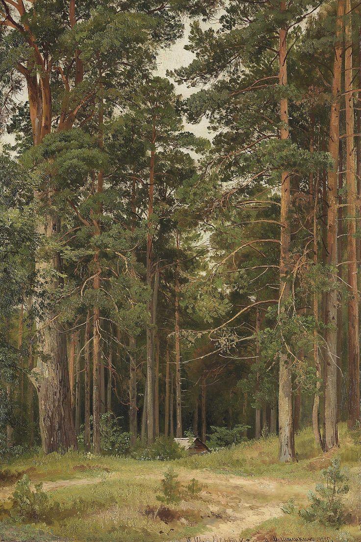 A summer day, Merikiul, oil on cardboard. c.1895